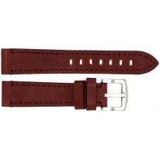 Ремень ASTEL 20 мм (коричневый  ,застёжка хром)