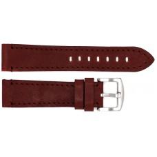 Ремень ASTEL 22 мм (коричневый  ,застёжка хром)