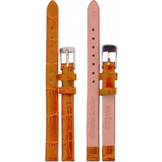 Ремень SWISS LINK  8 мм (рыжый ,застёжка хром)