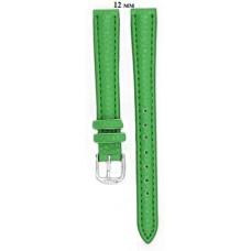 Ремень 12 мм (зелёный ,застёжка хром)