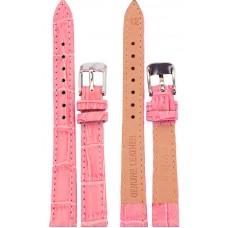 Ремень SWISS LINK 12 мм (розовый ,застёжка хром)