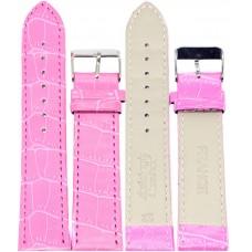 Ремень ASA 22 мм (розовый ,застёжка хром)