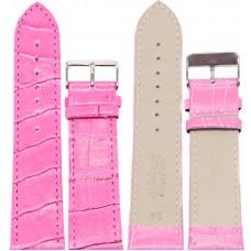 Ремень ASA 24 мм (розовый ,застёжка хром)
