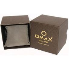 Коробка OMAX(130)..............  Цвет коричневый    -    Размеры: 95*95*85мм
